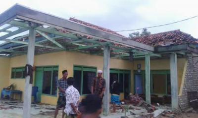 Puting Beliung Mengamuk, GP Ansor Pamekasan Siapkan Bantuan