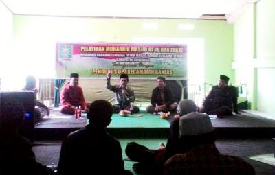 NU Sumedang Revitalisasi Masjid melalui Tenaga Muharrik
