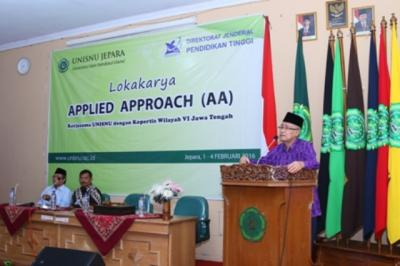 Menengok Lokakarya Applied Approach di Unisnu Jepara