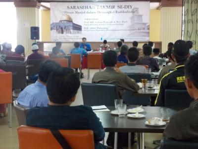 Takmir Masjid Se-DIY Diskusikan Radikalisme