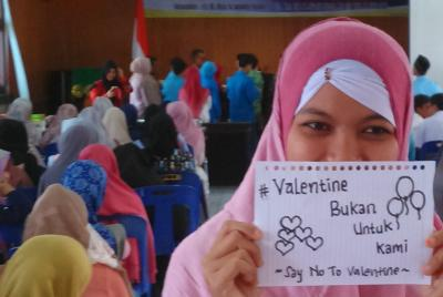 PMII Banda Aceh Gelar Seminar Tentang Perayaan Valentine Day