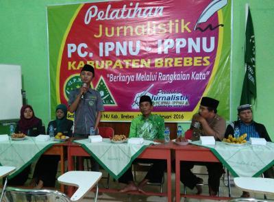 Luncurkan Website Resmi, IPNU-IPPNU Gelar Pelatihan Jurnalistik