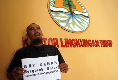 Cipta Tandu Darurat Ramaikan Hari Peduli Sampah Nasional di Way Kanan