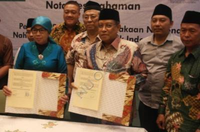 Digitalisasi Karya Ulama Nusantara, PBNU Gandeng Perpusnas RI