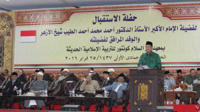 Kunjungan Grand Syekh Azhar Kokohkan Hubungan Mesir-Indonesia