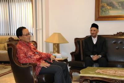 Dubes RI Damaskus dan DR Taufik Ramadhan Al-Bouty Bahas Hubungan Indonesia dan Suriah