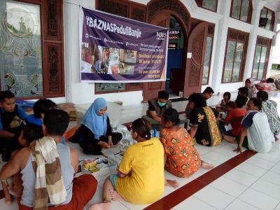 Peduli Banjir Sampang, Baznas Mobilisasi Bantuan dan Tim Kesehatan