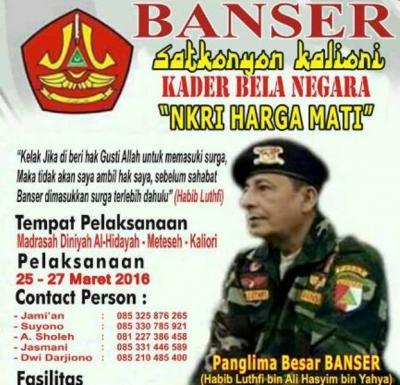 MWCNU Kaliori Dukung Kaderisasi GP Ansor