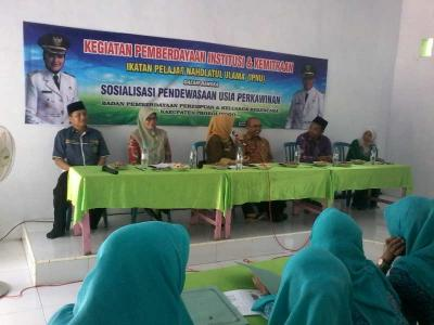 IPNU Probolinggo Sosialisasikan Cegah Kawin Dini