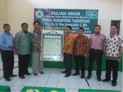STISNU Kukuhkan Prof Wan Jamaluddin sebagai Guru Besar Kehormatan