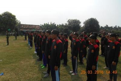 Tangkal Radikalisme di Desa, GP Ansor Rembang Didik 100 Calon Banser