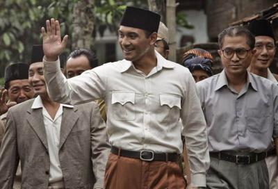 Halaman BMT NU Gapura Jadi Lokasi Nobar Film Sejarah Soekarno