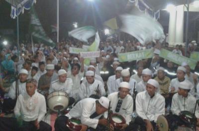 GP Ansor Jakenan Ngaji Umum Sambut Perpisahan KKN STAIN Kudus