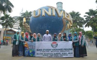 Lakukan Pertukaran Pelajar, Pesantren Nuris Sebar Islam Nusantara di ASEAN
