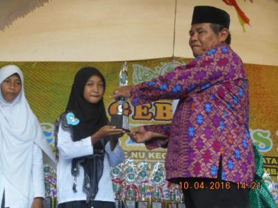 Madrasah Miftahul Ulum Sabet Juara Cerdas Cermat Maarif NU Kaliori