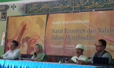Gusdurian Lombok Gelar Halaqah Antikorupsi di Pesantren