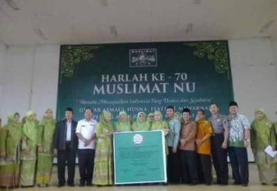 Muslimat NU Wonosobo Deklarasikan Gerakan Antinarkoba