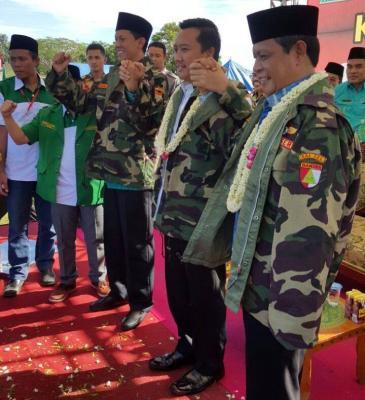 GP Ansor Kalsel Helat Kemah Bakti Aswaja di Tanah Laut