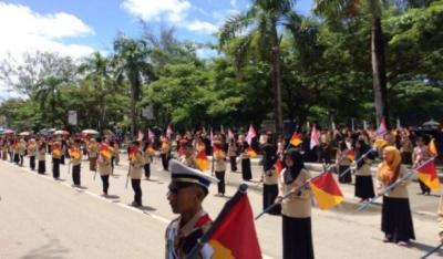 Ribuan Pramuka Mahasiswa Lintas Agama Ikuti Perkemahan Wirakarya di Kendari