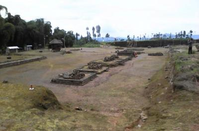 Ngabuburit di Situs Liangan, Permukiman Zaman Mataram Kuno