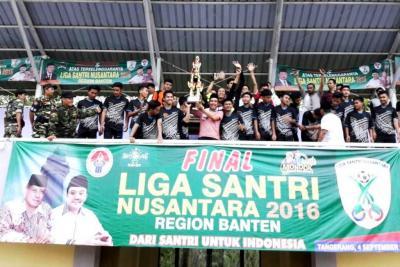 Pesantren Al-Asyariah Juarai Liga Santri Nusantara Region Banten