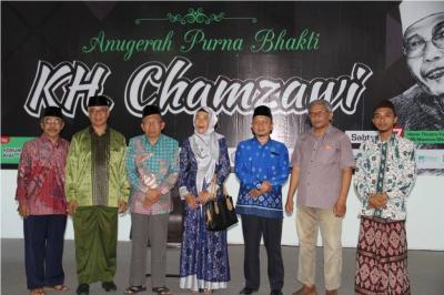 FKKS Beri Anugerah kepada Rais Syuriah PCNU Malang