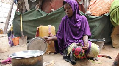 Krisis Somalia: 40 Persen Warga Kini Kekurangan Pangan