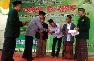 Ansor Tembarak Bantu Taman Pendidikan Al-Qur'an