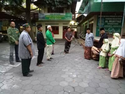 Sowan Kiai, GP Ansor Solo Diwejangi Ikut Nguri-Uri NU