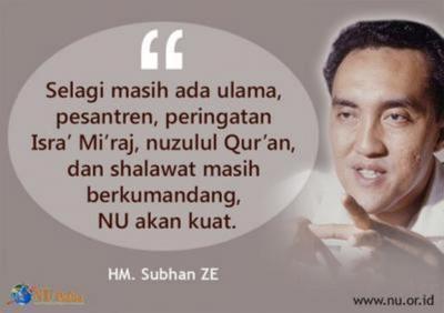 Diplomasi Politik ala Subhan ZE
