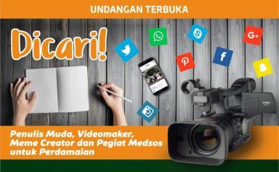 Nutizen-Wahid Foundation Buka Pelatihan Content Creator untuk Pemuda
