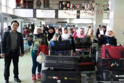 KBRI Kembali Pulangkan 13 TKW dari Suriah