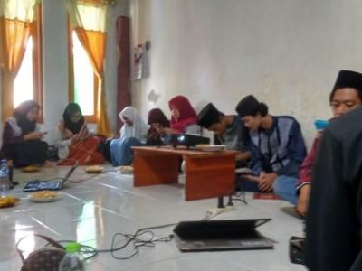Pelajar NU Astanajapura Cirebon Gelar Pelatihan Jurnalistik