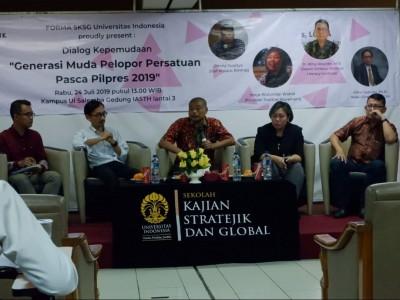 Bangun Kesadaran Kritis Pemuda, Langkah Akhiri Politik Identitas