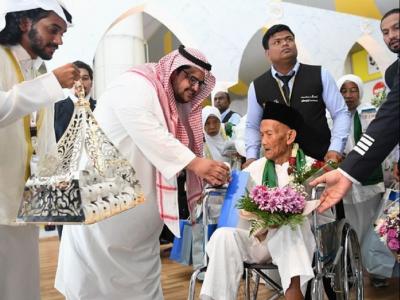 Kakek Asal Indonesia yang Diundang Raja Salman Berhaji Tiba di Saudi