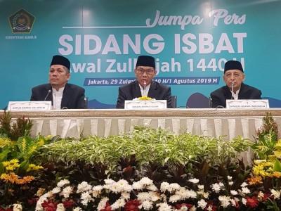 Idul Adha 1440 H Jatuh pada Ahad 11 Agustus 2019