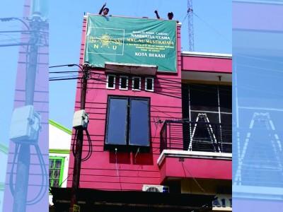 Punya Kantor, Rais MWCNU Mustikajaya Bekasi Harap NU Tambah Maju