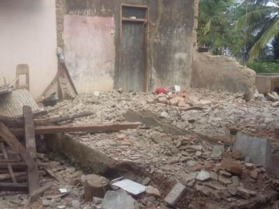 Pesantren di Mandalawangi Hancur Akibat Gempa Banten