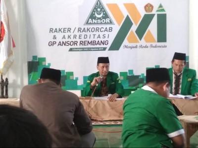 Ansor Rembang Dorong Pendirian Sekolah Tinggi NU