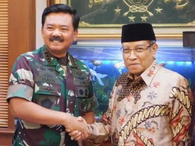 Kunjungi PBNU, Ini Pembicaraan Panglima TNI dengan Kiai Said