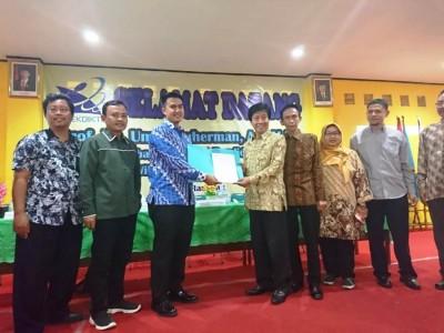 Yayasan di Bekasi Bersama LPTNU Bangun Universitas Mitra Karya