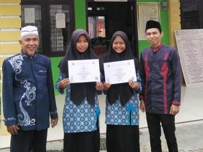 Santri MA Nurul Izzah Dharmasraya Raih Juara Matematika Tingkat  Kabupaten