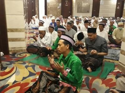 Hadapi Wukuf, Jemaah Haji JKG 51 Pringsewu Gelar Yasinan
