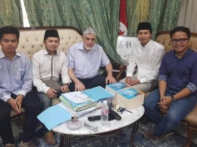 Rektor Universitas Zaitunah Jadi Mustasyar PCINU Tunisia