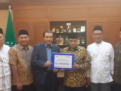 PBNU Terima Bantuan untuk Pembangunan Unusia Jakarta