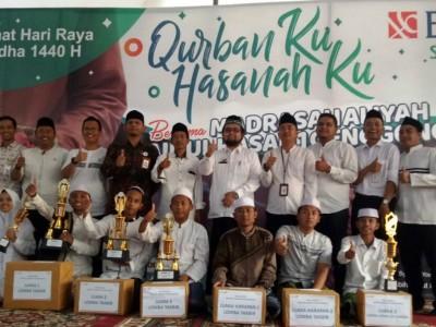 MA Zainul Hasan Genggong Probolinggo Dikenalkan Perbankan Syariah