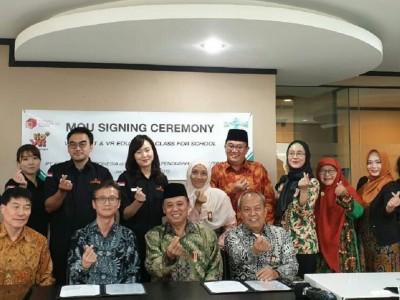 HPN dan Kovee Jaya Indonesia Inisiasi VR Pertama Bidang Keagamaan- Kebangsaan