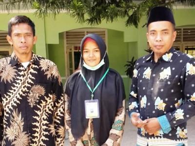Pelajar Madrasah di Lombok Tengah Juara Pertama Pelajaran Kimia