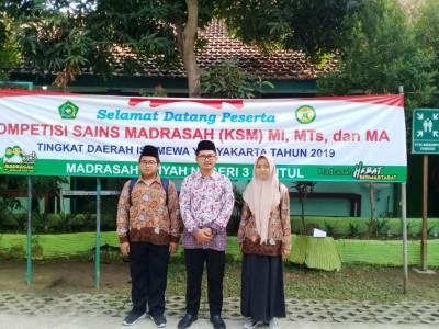Ishmet, Juara KompetisiSains Madrasah dan Penghafal Alfiyah