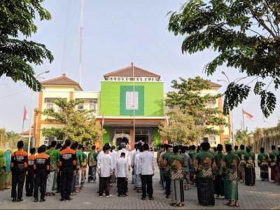 Upacara Bendera HUT RI, NU Kota Pekalongan Ingatkan Nahdliyin Jaga NKRI